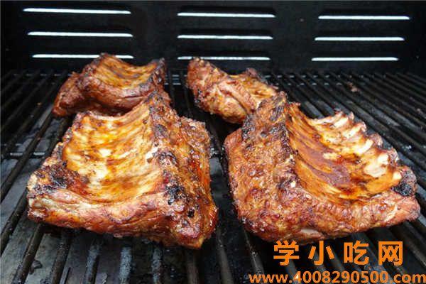 排骨类烧烤腌制配方