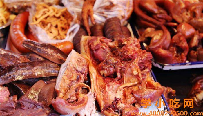 卤猪头肉的做法及配料