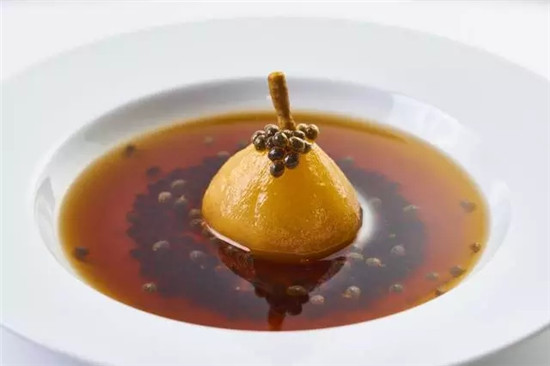 【海派菜】野生葛仙米雪蛤炖香梨