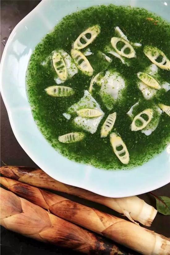 【海派菜】荠菜春笋煨鮰鱼