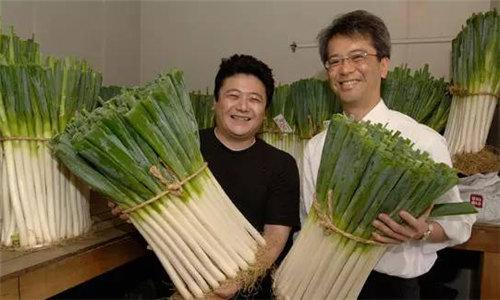 最贵的大葱:日本也有好大葱