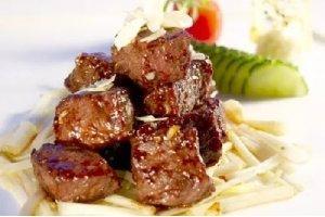【海派菜】芹香杏仁小牛肉