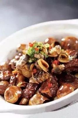 【海鲜菜】石锅香螺仔排煲