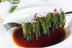 【海葡萄】这种绿色鱼子酱,口感不输真的鱼子酱!
