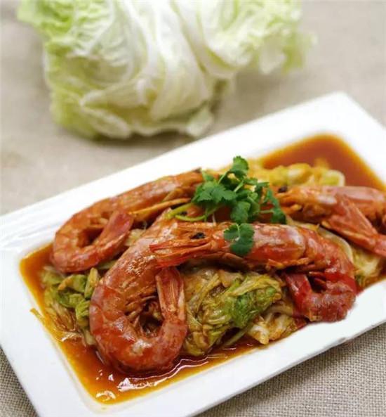 【京菜】大虾烧白菜