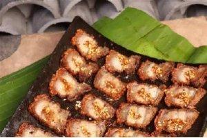 【滇菜】独龙族瓦片烤肉