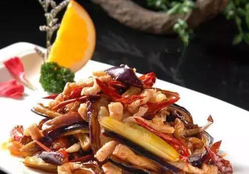 【黔菜】酸茄子炒板筋
