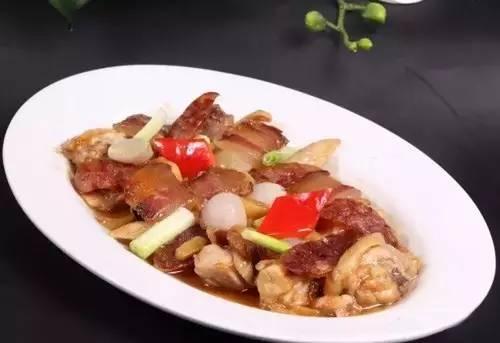 【粤菜】红葱腊味蒸农家鸡