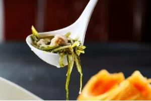 【鲁菜】海带蛋花泡馓子
