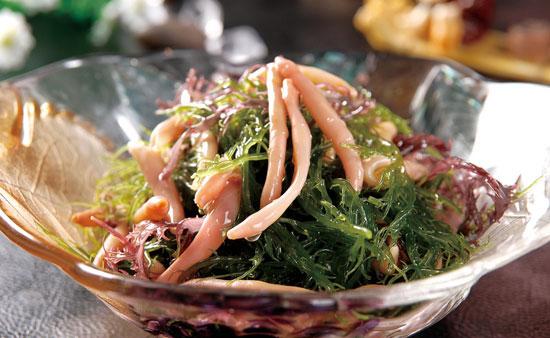 鹿角菜拌海肠的做法