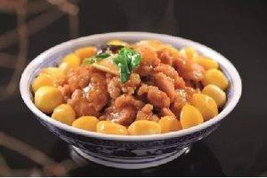 【农家菜】栗子黄焖鸡