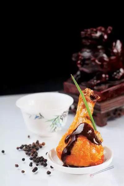 【意境菜】黑椒汁鸡肘(10位量)