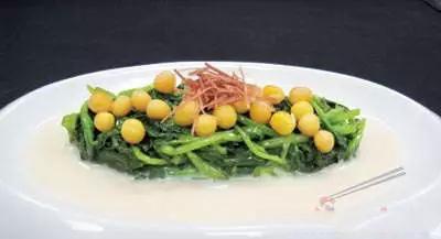 【意境菜】豆汁鸡毛菜