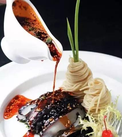 【凉菜】凉面捞海参