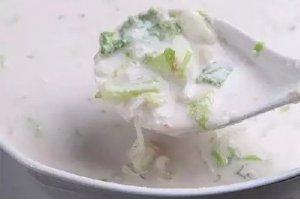 【家常菜】花生浆煮白菜