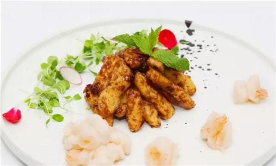 【创新菜】杨氏虾游鱼