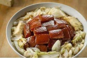 【家常菜】炖肉白菜冻豆腐粉