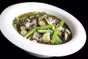 【融合菜】凉瓜焖江团
