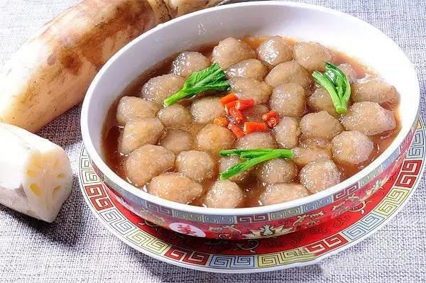 【创新菜】珍珠藕丸