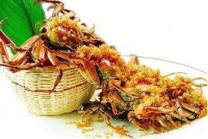 【创新菜】姜茸大闸蟹